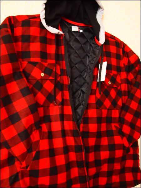 Archiwum | Ocieplana koszula flanelowa męska, zapinana na  ubNYw